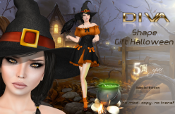 Diva Shapes - Halloween Gift